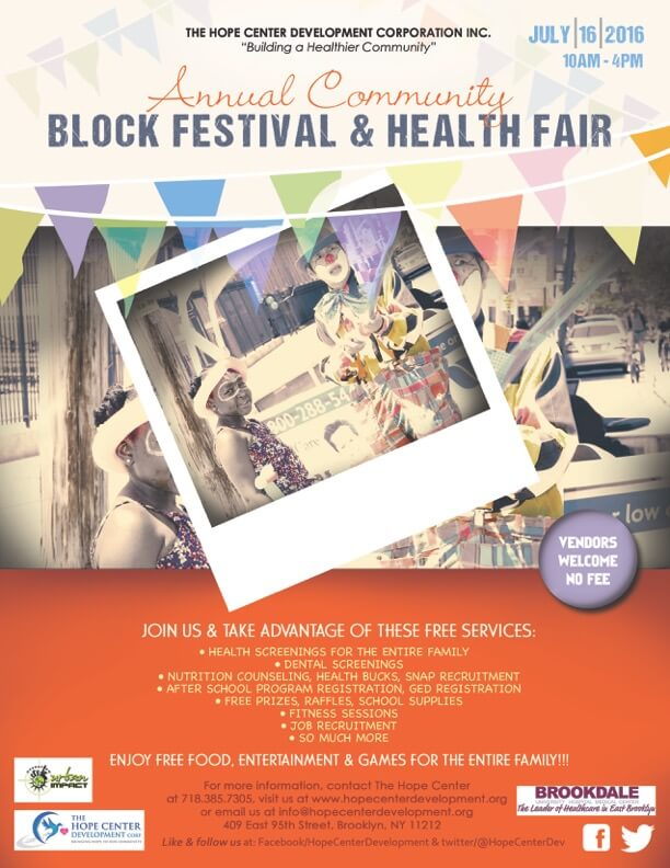 2016 Hope Center Annual Block Festival & Health Fair